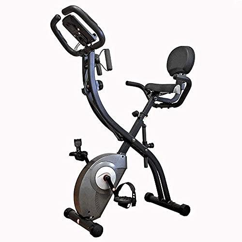 Macchina ellittica Training Machine Machine Silenziatore Controllo magnetico Bicicletta D ESERCIZIO Pieghevole Bike Sport con Cartella Rotary Attrezzature sportive interne