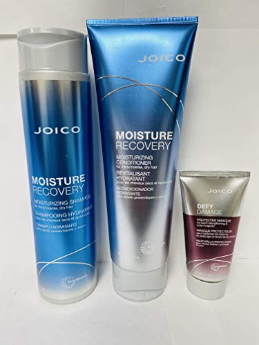 Price comparison product image Joico Moisture Recovery Shampoo, Conditioner,  Defy Damage Masque Kit