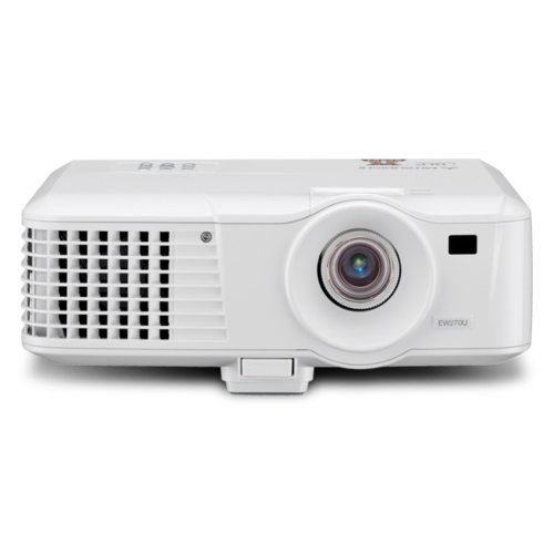 MITSUBISHI EW 270U DLP-Projektor (2600 ANSI-Lumen, Kontrast 2000:1, WXGA 1280 x 800) weiß