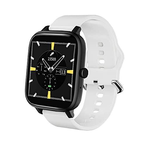 Smartwatch Uomo e Donna, Draccialetto Sportivo Intelligente, Orologio Fitness con Contapassi e Cronometro, Orologio Intelligente con Funzione di Chiamata e Musica