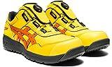 [アシックス] ワーキング 安全靴/作業靴 ウィンジョブ CP306 Boa JSAA A種先芯 耐滑ソール fuzeGEL搭載 ブライトイエロー/ハバネロ 28.0