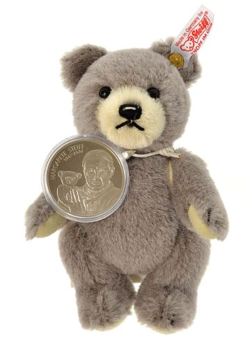 Steiff Teddybär 673795 limitierter Artikel Alpaca grau Kupfernickel