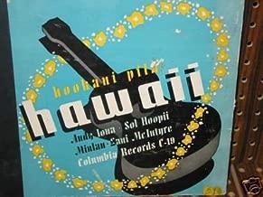 Hookani Pila, Musical Hawaii 78 Rpm Set Andy Lona and HIS Islanders Under Direction of Harry Owens, Muilan, Lani Macintyre