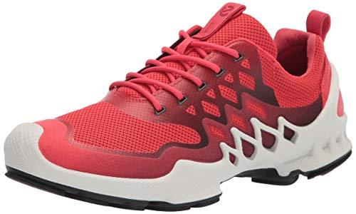 ECCO Women's Biom Aex Trainer Running Shoe, Hibiscus/Black, Numeric_6_Point_5