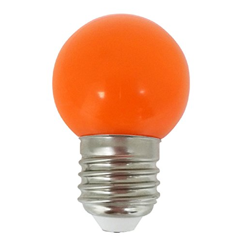 LIGHTME LM85255 - Lámpara LED (0,5 W, E27, 20000 h, Naranja)