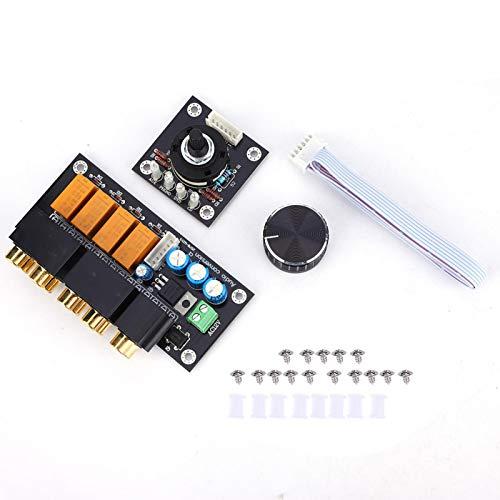 Selector de audio, conmutador de audio, audio estéreo confiable y práctico para la industria
