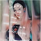 Perruque Femme Naturelle Synthétique Ombre Rose Cosplay 24''GLAMADO-Lace Frontal 2020 Nouvelle Délicate Synthétique - Épais Jolie Chic,Couture Invisible Quotidien,Déguisement,Soirée,Halloween,Pâque