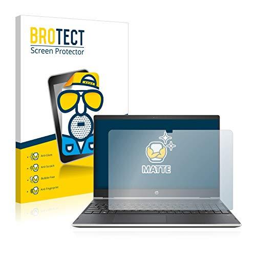 BROTECT Entspiegelungs-Schutzfolie kompatibel mit HP Pavilion x360 15-dq1004ng Bildschirmschutz-Folie Matt, Anti-Reflex, Anti-Fingerprint