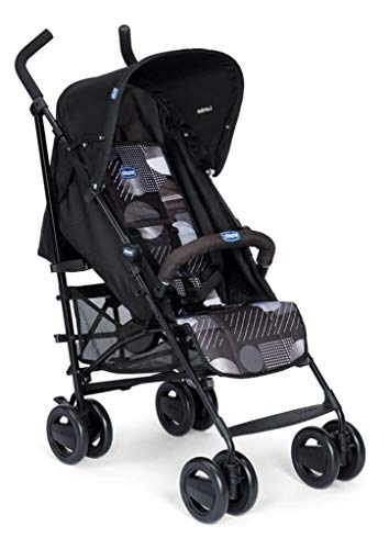 Passeggini 4 Ruote Chicco 00.79258.640 Passeggino London Up Blue Chicco Easy and agile, that's the motto of london up. for comfortable driving in the busy city this buggy is ideal. Recommended from birth to 15 kg body weight The backrest is 4-way adjustable - with only 1 hand. 5