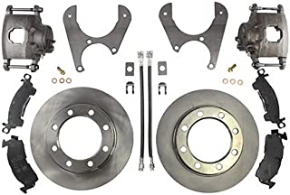 Ruffstuff Rear Axle Disc Brake Kit (Without Steel Braided), Compatible With Ford Dana 60 77' Newer