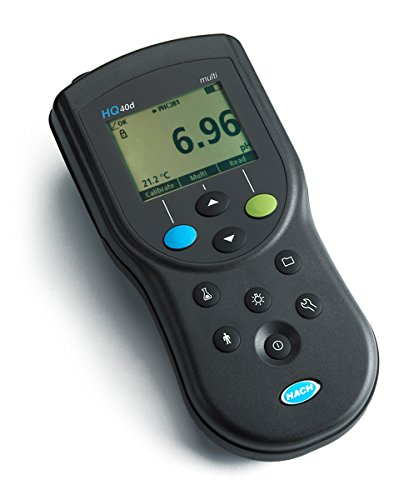 Hach HQ40d Portable pH/Conductivity/Optical Dissolved Oxygen/ORP/ISE Multi-Parameter Meter
