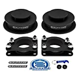 Supreme Suspensions - Full Lift Kit for 2002-2007 Jeep Liberty KJ 2.5' Front Strut Spacers + 2' Rear Spring Spacers High-Strength Carbon Steel Lift Kit 2WD 4WD PRO KIT