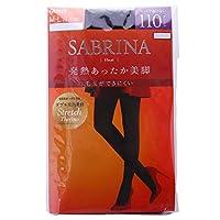 (グンゼ)GUNZE (サブリナ)SABRINA タイツ 110デニール 消臭 毛玉できにくい 発熱 静電気防止(BK-ブラック、