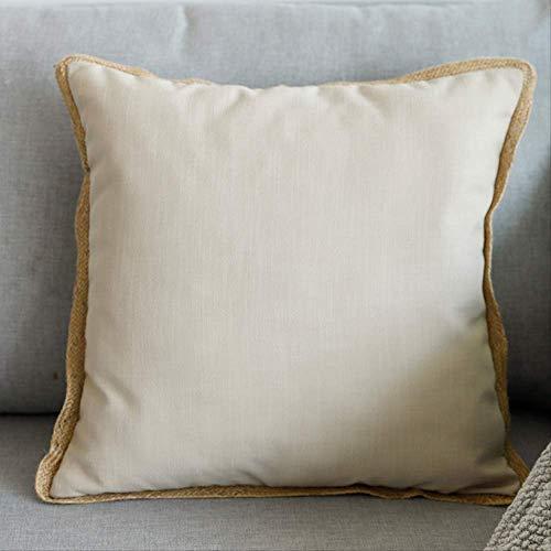Elise kussen sofa met Core-plaats nachtkussen 45x45cm Beige
