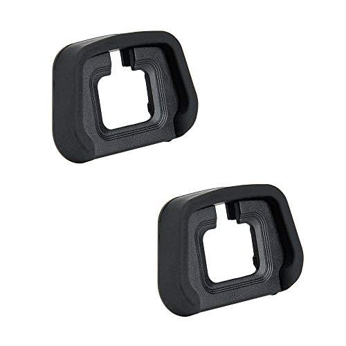 JJC - Oculare in morbido silicone per Nikon Z5, Z6, Z6II, Z7, Z7II Mirrorless fotocamera sostituisce Nikon EN-D29 (2 pezzi per confezione)