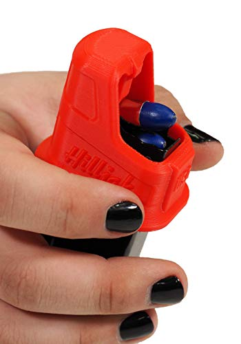 Hilljak Speed Loader Compatible with Sig Sauer P365, Springfield Hellcat Double-Stack 9mm - Red
