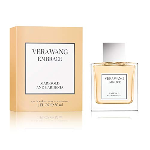 Vera Wang Embrace Eau de Toilette Spray for Women, Marigold & Gardenia, 1 fl. oz.