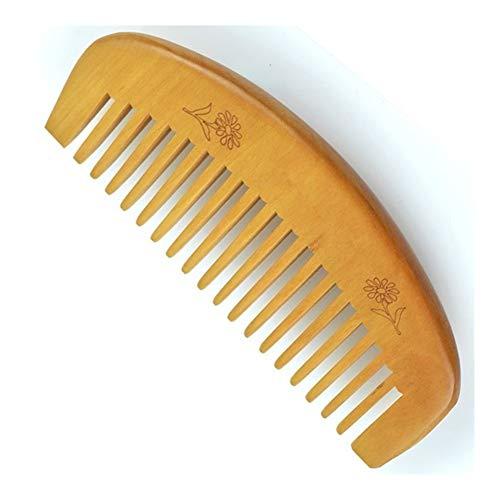 JSNRY 1pcs Cookie chocolat en forme de mini miroir de maquillage compact Miroir de poche Miroir Portable pliant de maquillage avec 1Pc peigne femmes Cadeaux Beau et pratique (Color : Wood comb 1pcs)