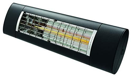 ETHERMA SOLAMAGIC® Infrarotstrahler S2, starker Outdoorstrahler mit 2500 W, Bluetooth-Steuerung, dimmbar, Maße (LxBxH): 866x200x92mm, Farbe: nano-anthrazit, SM-S2-2500BT-NA