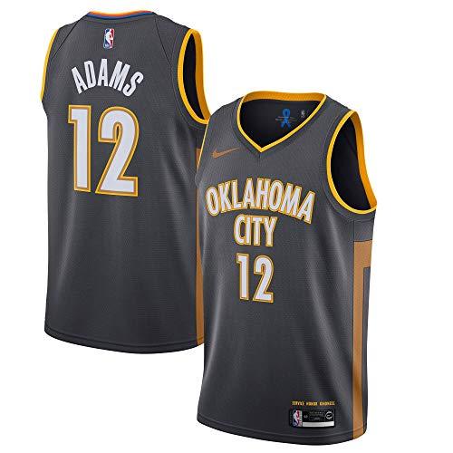Steven Adams Oklahoma City Thunder #12 Youth 8-20 City Gray Edition Swingman Jersey (14-16)