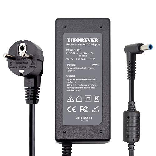 Chargeur Ordinateur Portable HP 19.5V 3.33A 65W pour HP Pavilion Probook EliteBook Envy Stream Spectre Alimentation Adaptateur Secteur Connecteur: 4.5 * 3.0mm