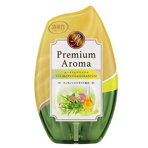 お部屋の消臭力 Premium Aroma ユーカリ&ゼラニウム × 3個セット