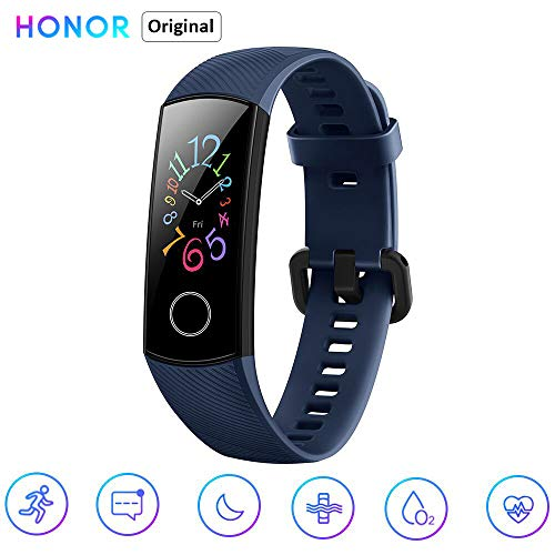 Honor HONL-BAND5-BLU Smartwatch, Blauw