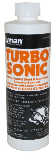 Lyman Turbo Sonic Gun Parts Cleaning Solution 16oz