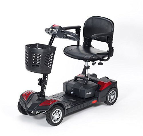 Drive DeVilbiss Scout 12 Amp Scooter – Compact Transportable Power...