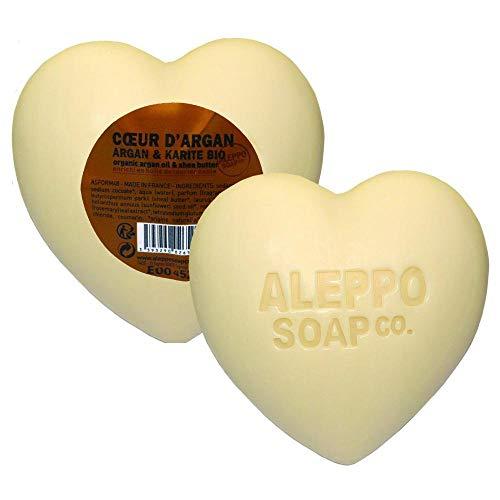 Aleppo Soap Cœur d'Argan Olive/Karité Bio 200 g