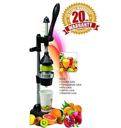 BTC Hand Press Juicer (Black)