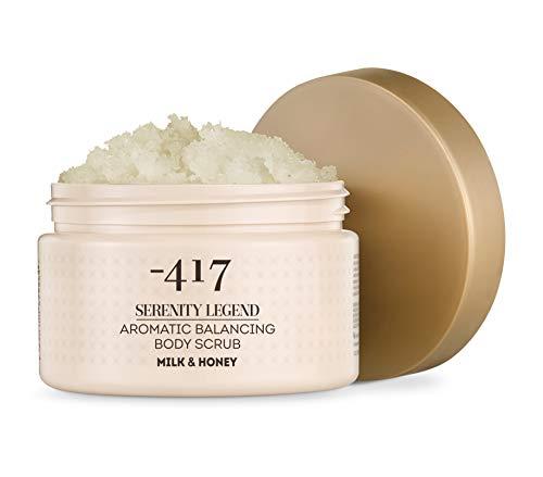 -417 Aromatisches Körperpeeling Milch & Honig - Kostbarer Mineralienkomplex Serenity Legend Collection