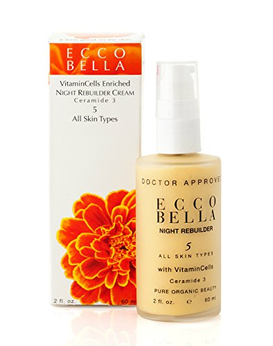 Ecco Bella Plant Based Night Rebuilder Night Cream 2 oz
