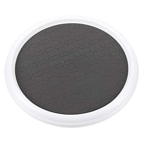 RUIXI - Organizador de armario con plato giratorio, giratorio 360°, organizador de especias giratorio, almacenamiento para cocina, encimera, cuarto de baño (12 pulgadas)