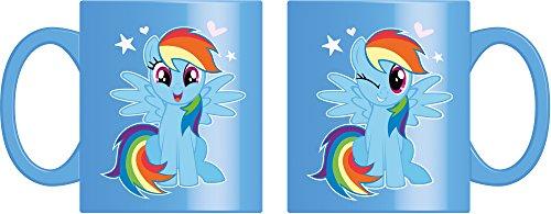 Joy Toy 95771 My Little Pony Rainbow Dash Keramiktasse 320 ml in Geschenkpackung, 12 x 9 x 10 cm