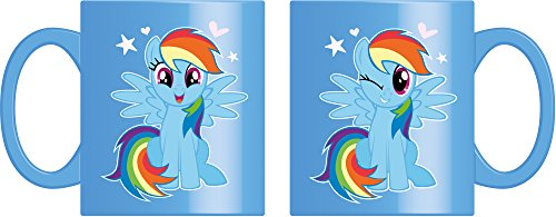Joy Toy 95771 My Little Pony Rainbow Dash Keramiktasse 320 ml in Geschenkpackung, 12 x 9 x 10 cm