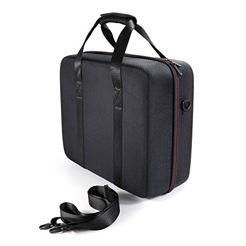 KT-CASE Oculus Rift S Case, Oculus Rift S PC-Powered VR Gaming Headset Doos Draagbare schoudertassen, Zwart