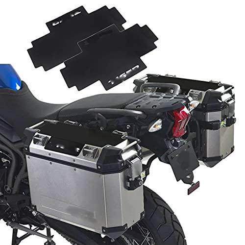 YKSM para Triumph Tiger 800 900 1200 Pegatina De Maletero Almohadillas Laterales para Maletas Motocicletas Conjunto De Fundas para Maletas para Maletas (Color : 2 PCS)