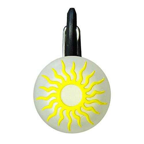Nite Ize ClipLit Porte-clés lumineux Soleil jaune