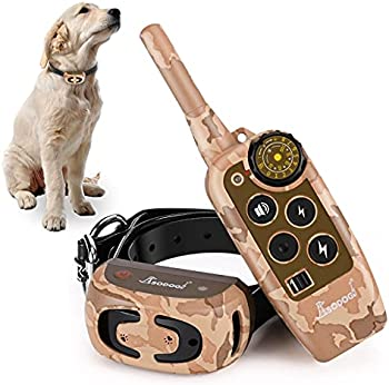 SODOG 2000Ft Remote Dog Training Shock Collars for Dogs
