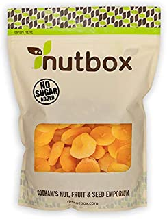 Nutbox   Dried Apricots Turkish   3 lbs in Resealable Bulk Bags, Dehydrated Sweet Snack, Gluten Free, Good source of Vitam...