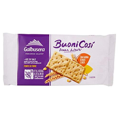 Buoni Cosi' Cracker con Farina di Mais e Orzo senza Lieviti, 300g