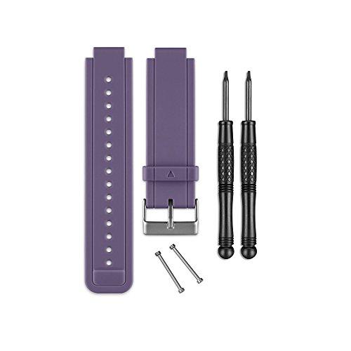 Garmin - Bracelet de Rechange pour Montres Vivoactive - Silicone - Violet