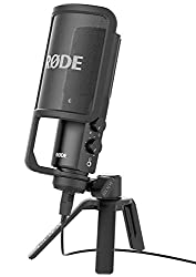 Rode NT-USB USB Cardioid Condenser Microphone - Best Podcast Microphones
