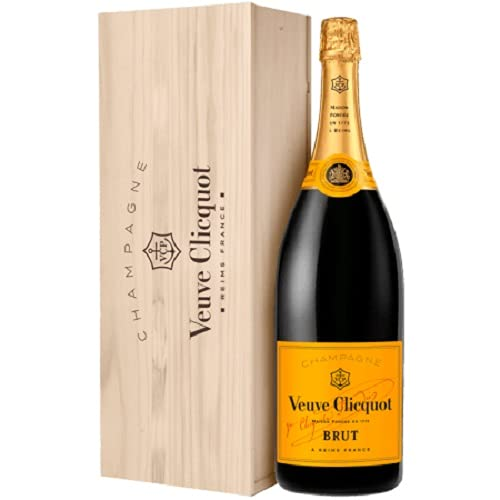 VEUVE CLICQUOT Brut Yellow Label JEROBOAM - Champagne AOC - BOX - 3000ml - ES