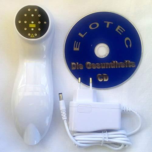 Hochleistungs Softlaser Lasertherapiegerät Dauer und Impulsbestrahlung 5 cm tief Akupunktur Lasertherapie - nur bei ELOTEC Medizinprodukte mit ELOTEC CD-Bonuslieferung mit EMS TENS Power Gerät