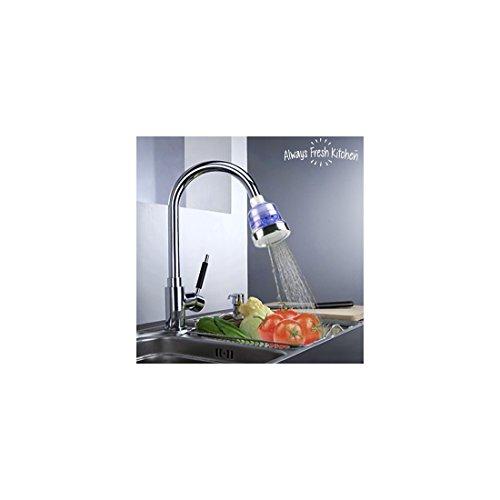 Hot Worldwide Cartouche de filtre pour robinet de cuisine en carbone de noix de coco avec couche non tiss/ée