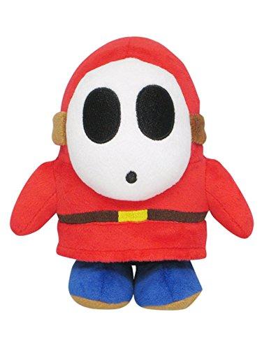 "Sanei Super Mario All Star Collection AC25 Shy Guy 6.5"" Plush"
