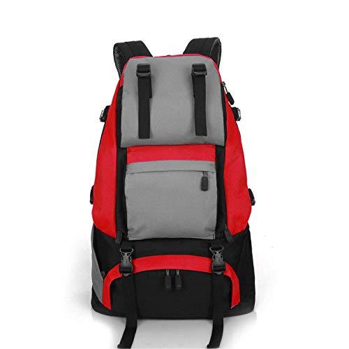 Topashe Ergonómica para Viajes Excursiones Acampadas Trekking,Bolsa de Viaje de Gran Capacidad de 40L, Bolsa de montañismo Multifuncional-H,Impermeable Mochila de Marcha Trekking