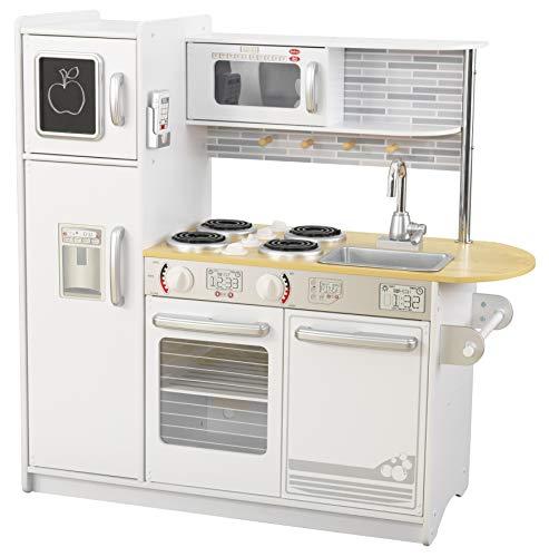KidKraft 53364 Uptown Spielküche aus Holz, Weiß